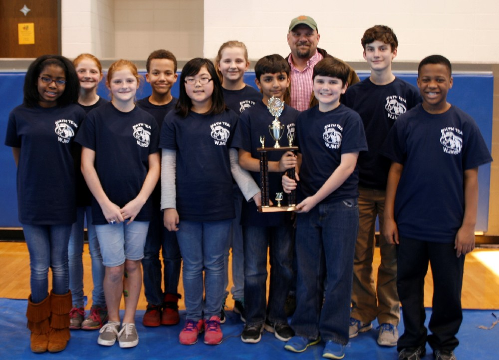6th Grade Overall Team First Place WJMS.jpg