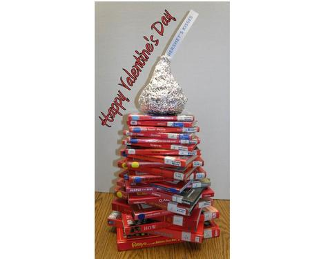 Valentine's Book Tree